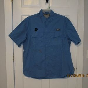 Eddie Bauer mens S/S casual button shirt XL
